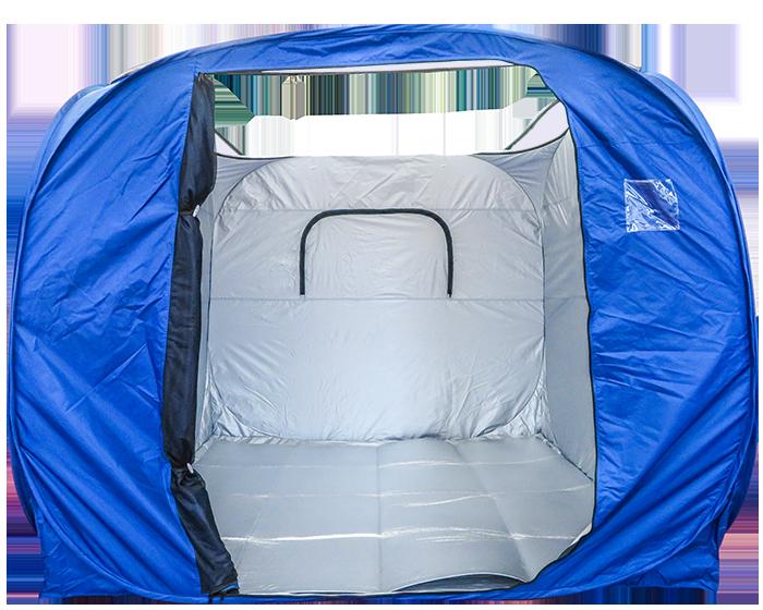 避難用テント
